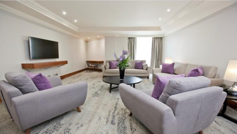 Lounge at Sanctum Maida Vale - Citybase Apartments