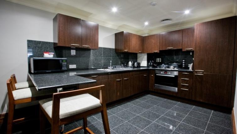 Kitchen at Sanctum Maida Vale - Citybase Apartments