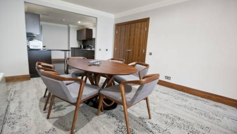 Dining area at Sanctum Maida Vale - Citybase Apartments