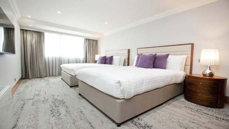 Large bedroom at Sanctum Maida Vale - Citybase Apartments