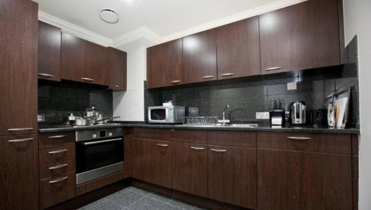Stylish kitchen at Sanctum Maida Vale - Citybase Apartments
