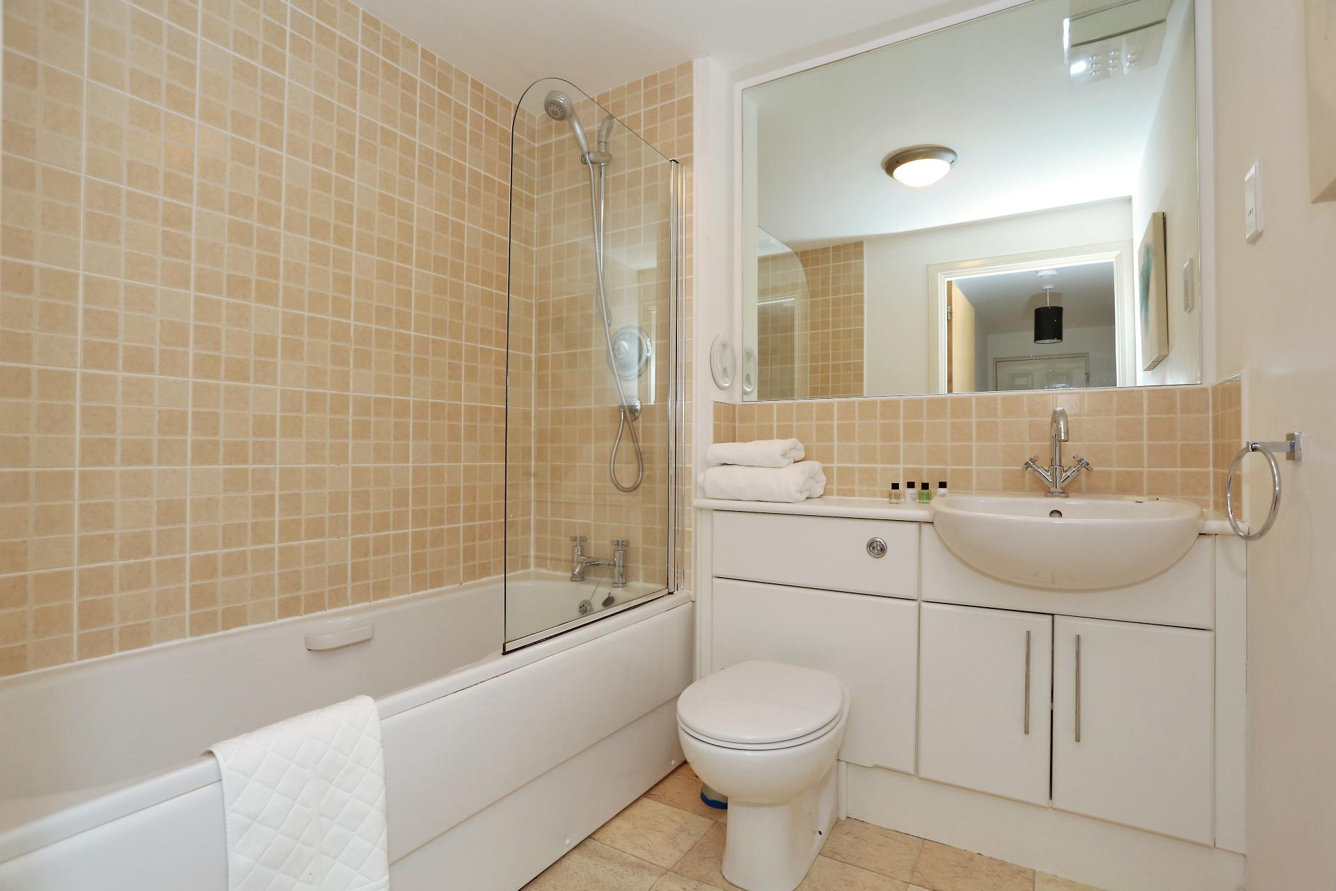 Bathroom at The Dee Village Apartment - Citybase Apartments