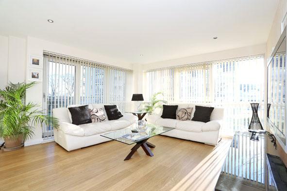 Living room at Kepplestone Apartments - Citybase Apartments