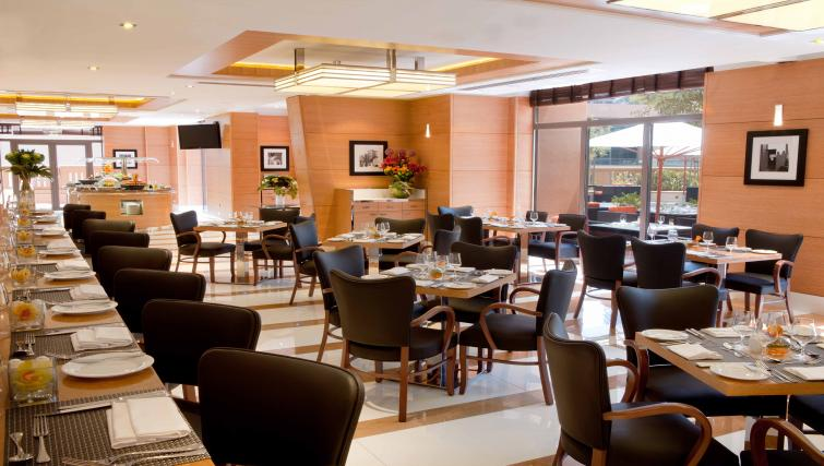 Restaurant at Ramada Plaza Jumeirah Beach - Citybase Apartments