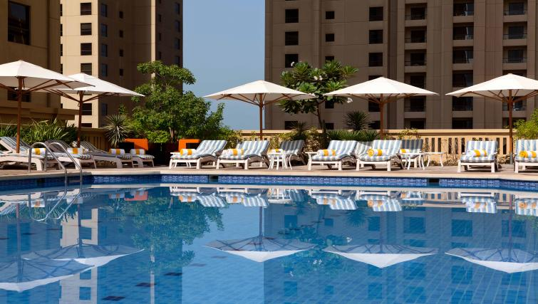Pool at Ramada Plaza Jumeirah Beach - Citybase Apartments