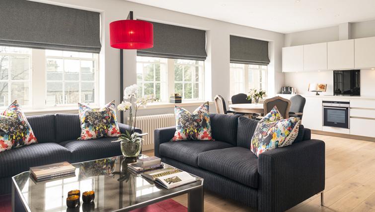 Striking living area at The Rutland Residence - Citybase Apartments