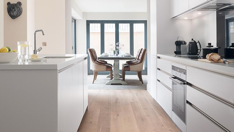 Spacious kitchen at The Rutland Residence - Citybase Apartments