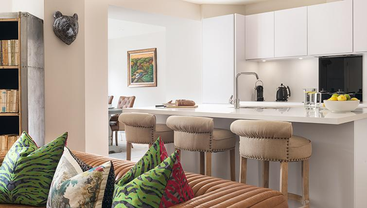 Smart dining area at The Rutland Residence - Citybase Apartments