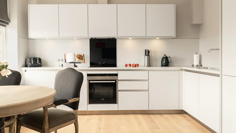 Modern kitchen at The Rutland Residence - Citybase Apartments