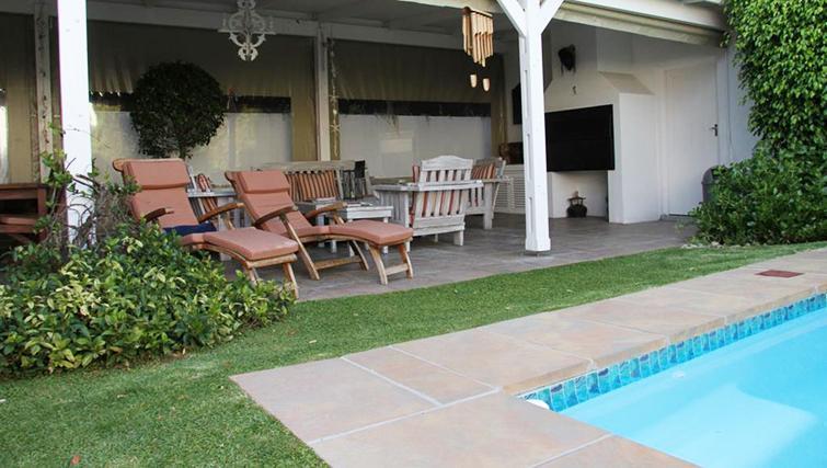 Pool at 5 Camp Street Apartments - Citybase Apartments