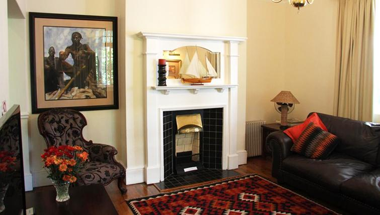 Fireplace at 5 Camp Street Apartments - Citybase Apartments