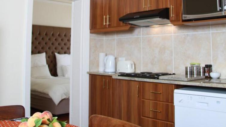 Kitchenette at 5 Camp Street Apartments - Citybase Apartments