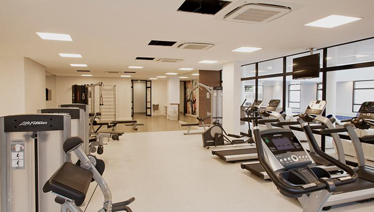 Fitness centre at DNA Pinheiros by Q Apartments - Citybase Apartments