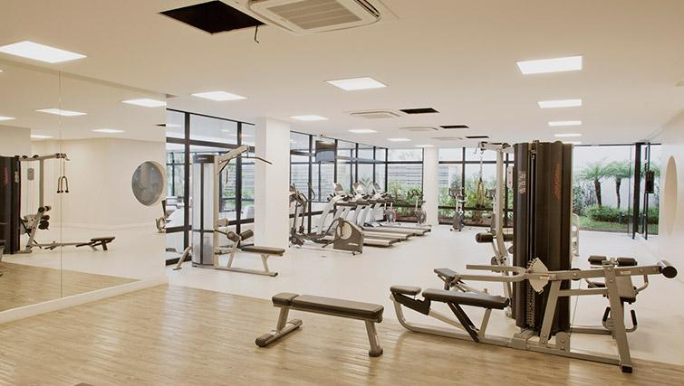 Gym at DNA Pinheiros by Q Apartments - Citybase Apartments