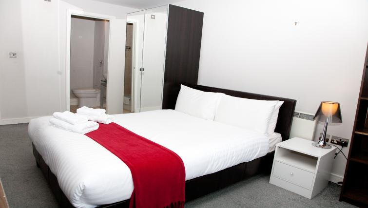 Bedroom at Euston Apartments - Citybase Apartments