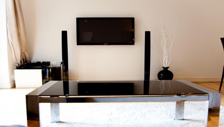 Flat screen TV at Euston Apartments - Citybase Apartments