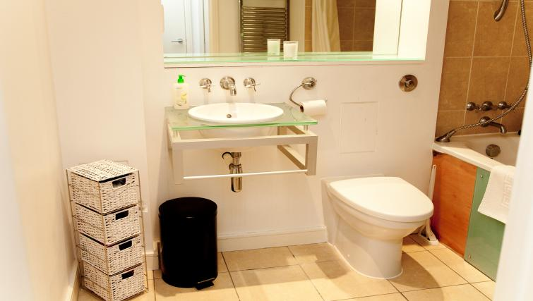 Practical living area at Euston Apartments - Citybase Apartments