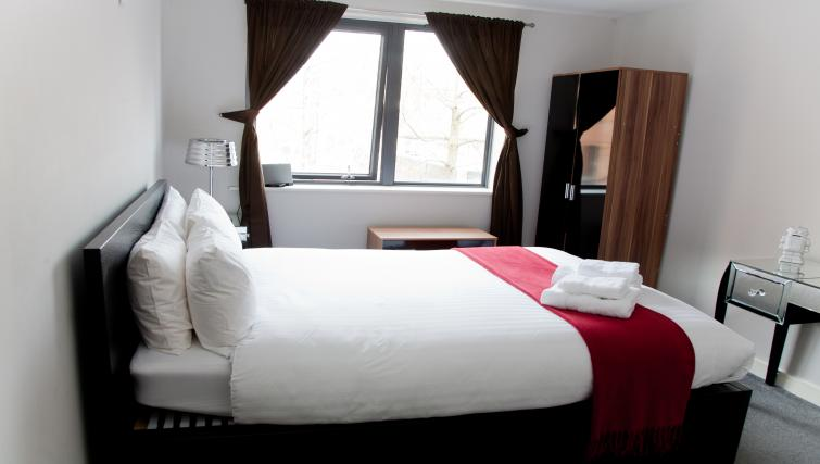 Homely bedroom at Euston Apartments - Citybase Apartments