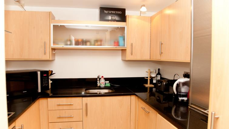 Kitchen at Euston Apartments - Citybase Apartments