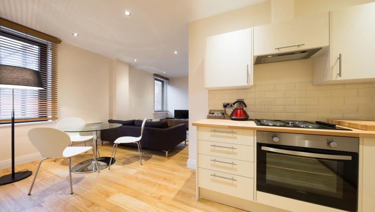 Modern kitchen at Morris Suites - Citybase Apartments