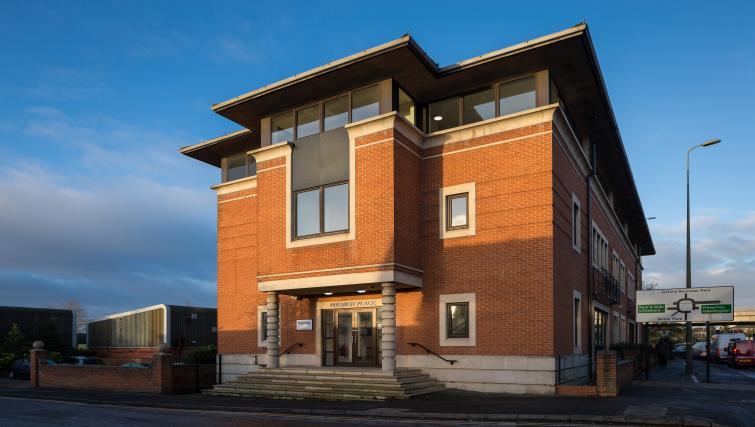Entrance at Morris Suites - Citybase Apartments