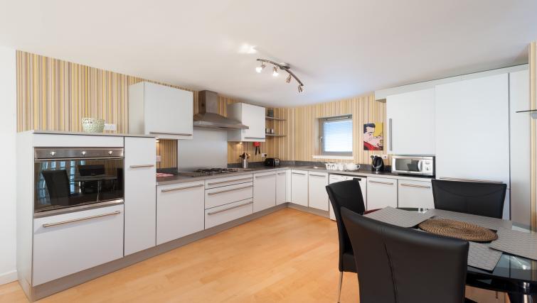 Kitchen at Vantage Apartment - Citybase Apartments