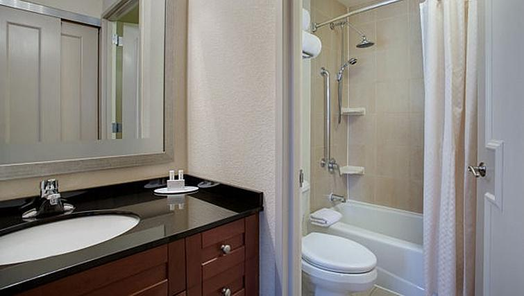Bathroom at Residence Inn New York Manhattan/Times Square - Citybase Apartments