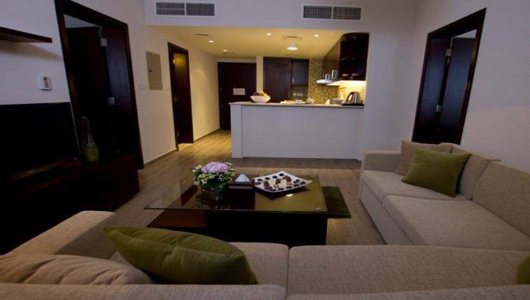 Living space at Vision Links Residence - Citybase Apartments