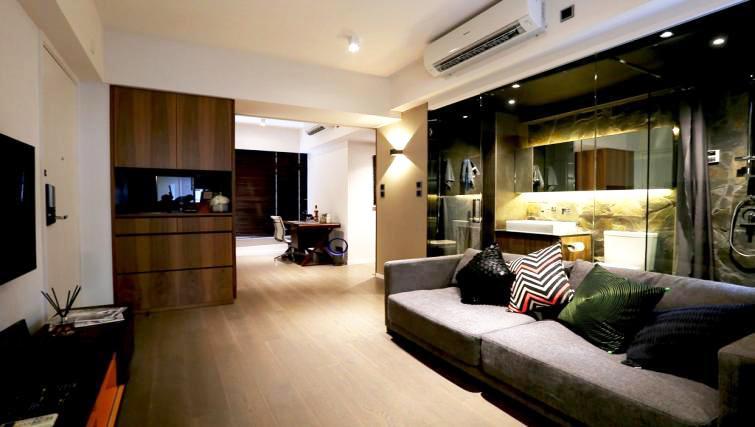 Living room at Mori Mori Serviced Apartments - Citybase Apartments