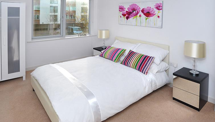 Bedroom at Castle Quay Apartments - Citybase Apartments