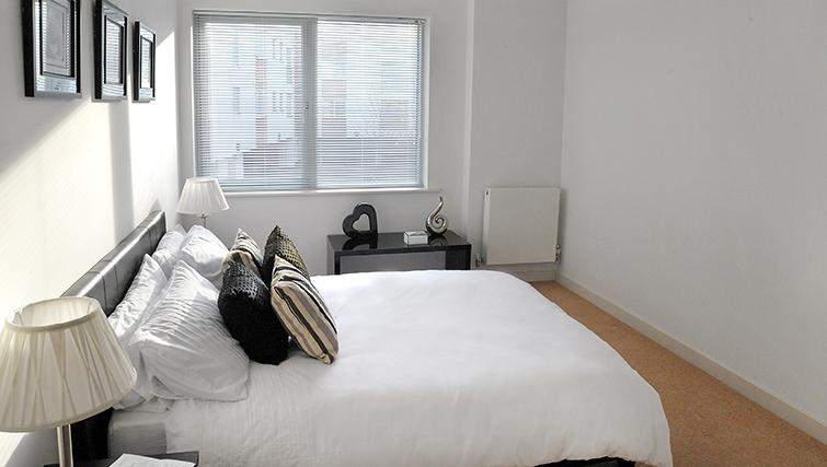 Double bedroom at Castle Quay Apartments - Citybase Apartments