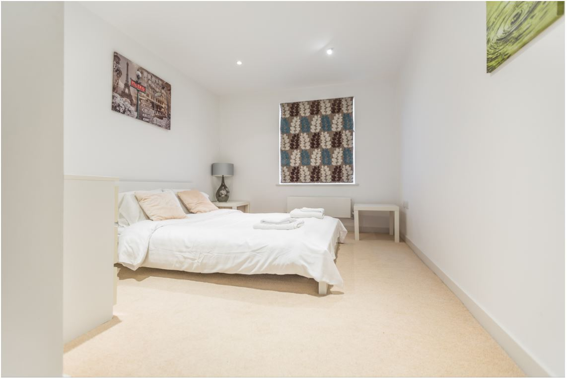 Bedroom at Castle Quay Apartments, Centre, Bedford - Citybase Apartments