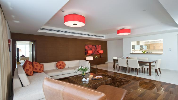 Living room at Fraser Suites Doha - Citybase Apartments