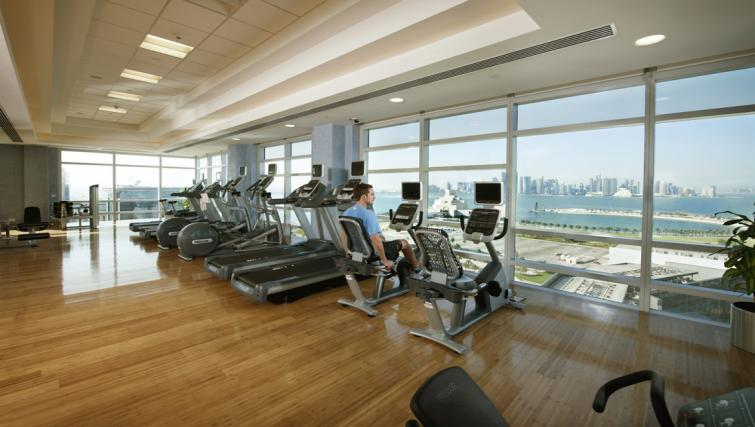 Gym at Fraser Suites Doha - Citybase Apartments