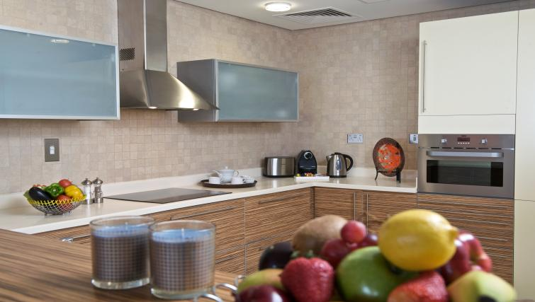 Kitchen at Fraser Suites Doha - Citybase Apartments