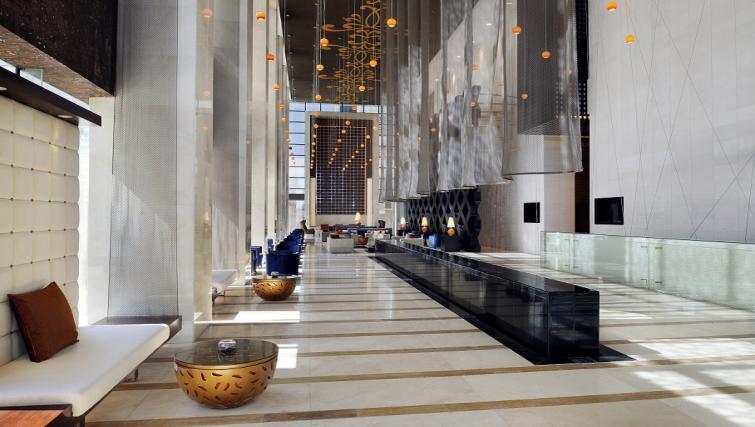 Lobby area at Southern Sun Abu Dhabi Apartments - Citybase Apartments