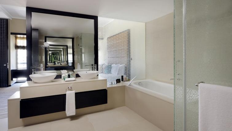 Bathroom at Southern Sun Abu Dhabi Apartments - Citybase Apartments