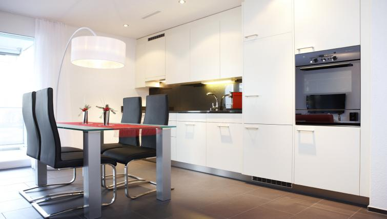 Kitchen at Bahnhofstrasse Apartments - Citybase Apartments