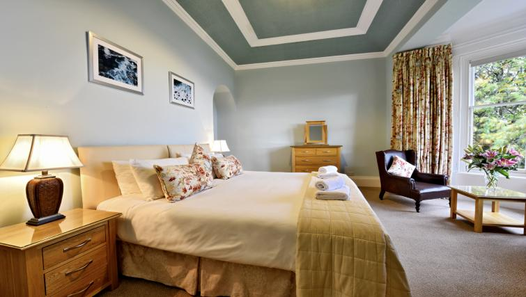 Bedroom at Cleish Apartment - Citybase Apartments