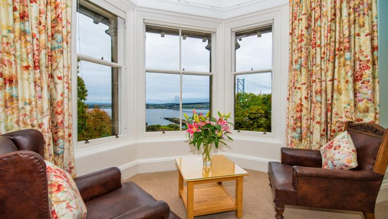 Bedroom view at Cleish Apartment - Citybase Apartments