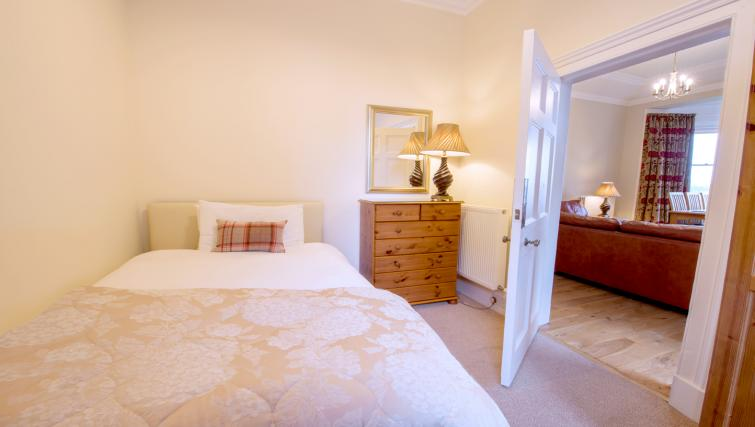 Bed at Cleish Apartment - Citybase Apartments