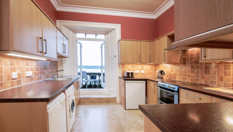 Fully equipped kitchen at Cleish Apartment - Citybase Apartments
