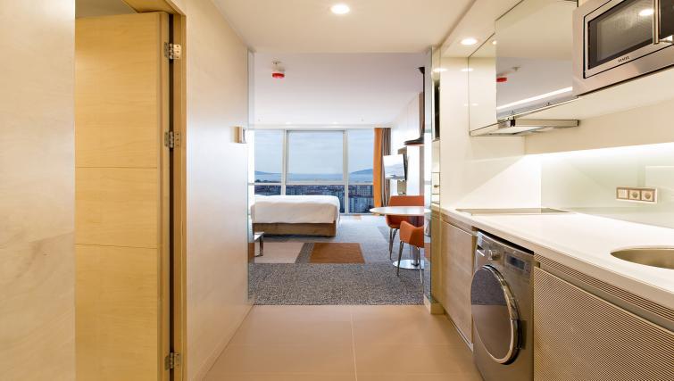 Kitchen at Tango Arjaan Apartments - Citybase Apartments