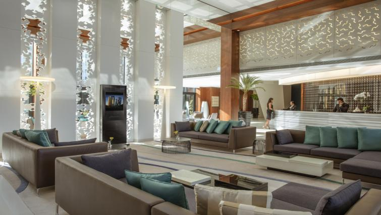 Lobby at Tango Arjaan Apartments - Citybase Apartments