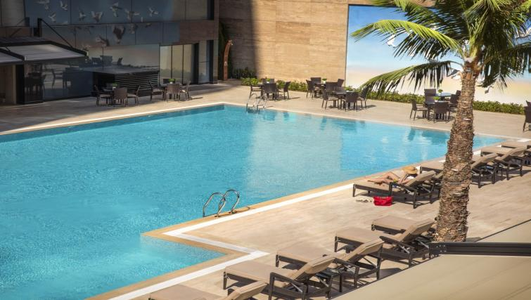Pool at Burgu Arjaan Apartments - Citybase Apartments