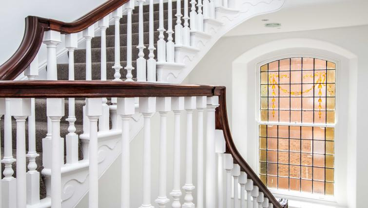 Stairway at Beaufort House Apartments - Citybase Apartments