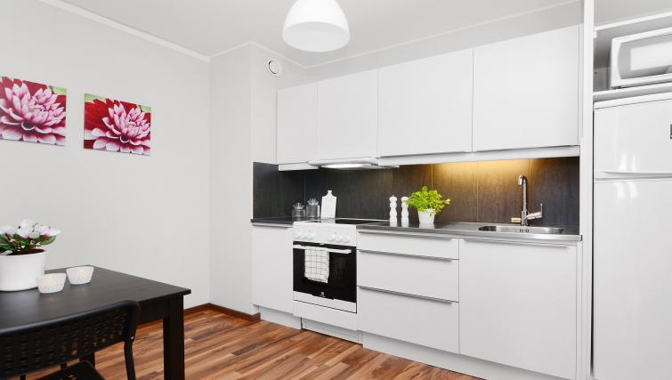 Kitchen at Storgatan Apartments - Citybase Apartments