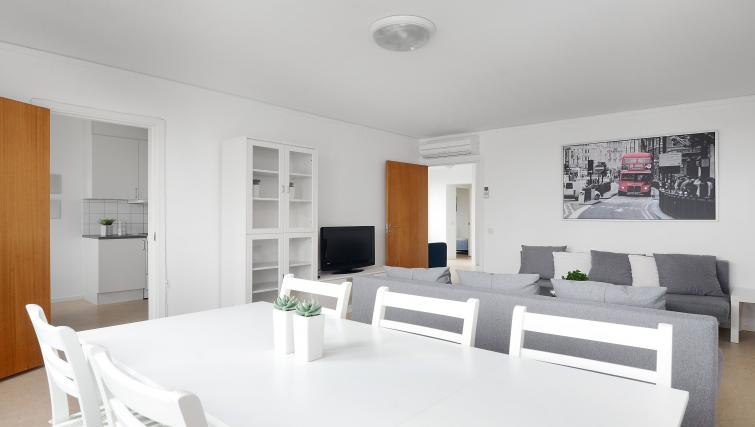 Living area at Storgatan Apartments - Citybase Apartments