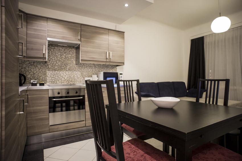 Kitchen at Villa Serena Apartments - Citybase Apartments