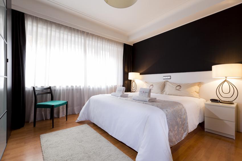 Bright bedroom at Villa Serena Apartments - Citybase Apartments